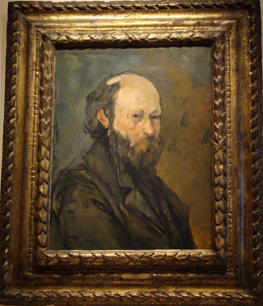 Paul Cezanne Self Portrait 1880