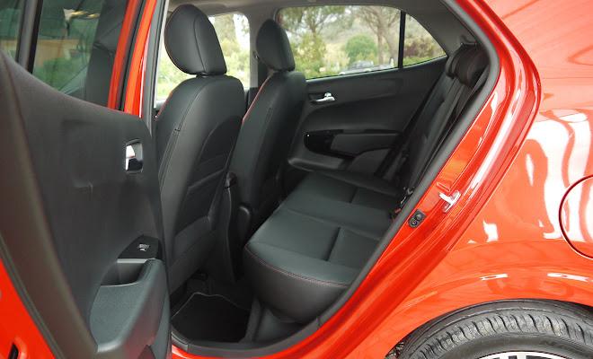 Kia Picanto GT Line rear interior