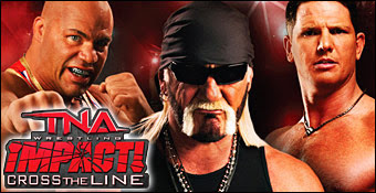 TNA Impact Cross The Line PPSSPP ISO for Android (APK + OBB)