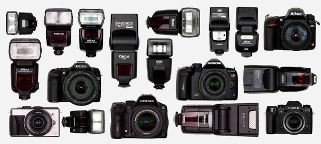 Fotografia dei flash e delle fotocamere compatibili con il Cactus V6 Mk II
