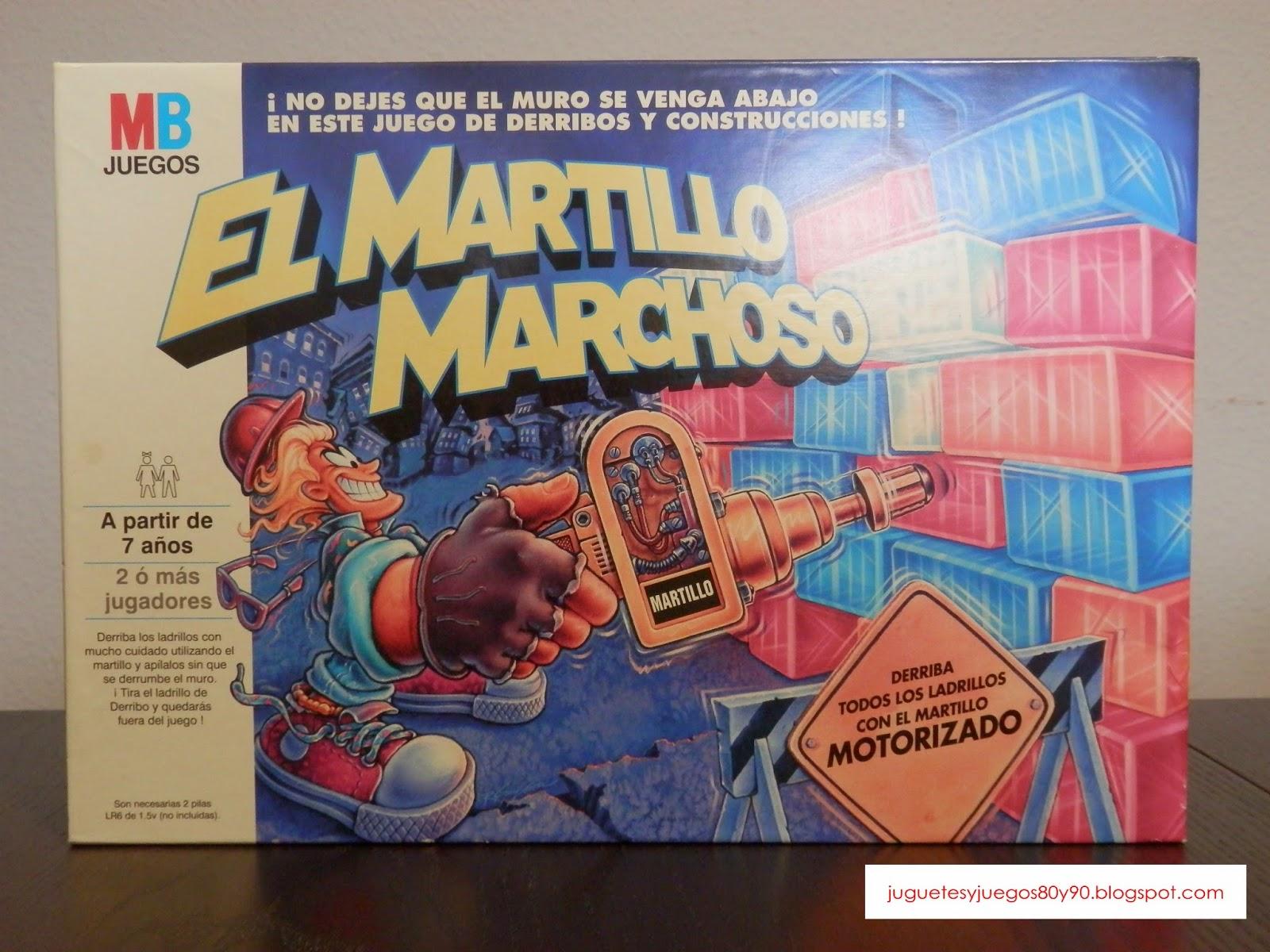 Juegos Y Juguetes Anos 80 Y 90 Juego De Mesa El Martillo Marchoso