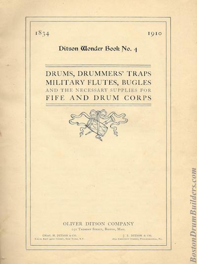 Oliver Ditson Wonderbook, 1910