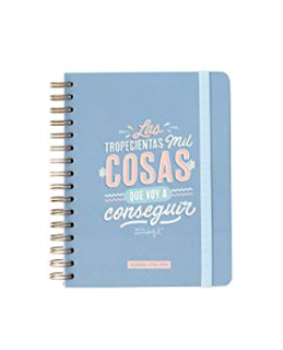 Agenda de Mr. Wonderful de espiral
