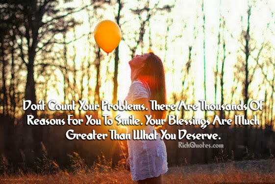 Blessings Quotes | What You Deserve