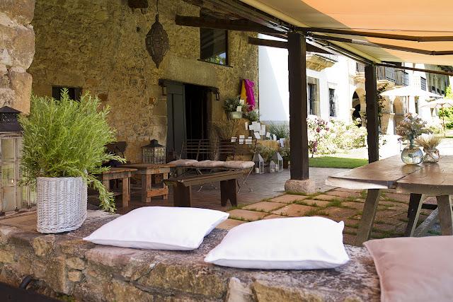 El Palacio de Meres se encuentra en una finca rústica al aire libre ideal para celebrar vuestra boda