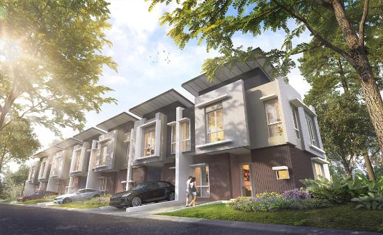tampak depan rumah minimalis ukuran 7x12 meter 2 kamar tidur 2 lantai