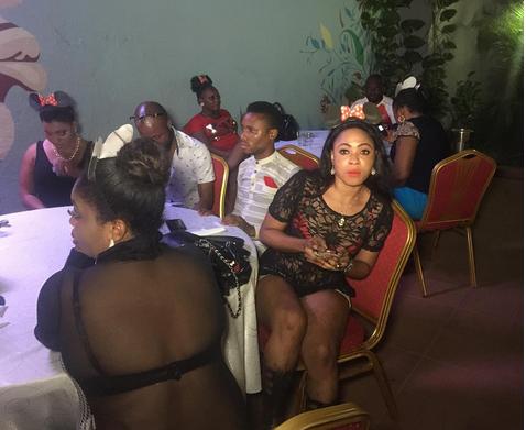 Yoruba Movie Star Regina Chukwu Holds Pool Party To Mark
