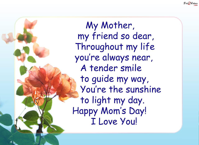 Famous Mother's Day Quotes 2017 poems