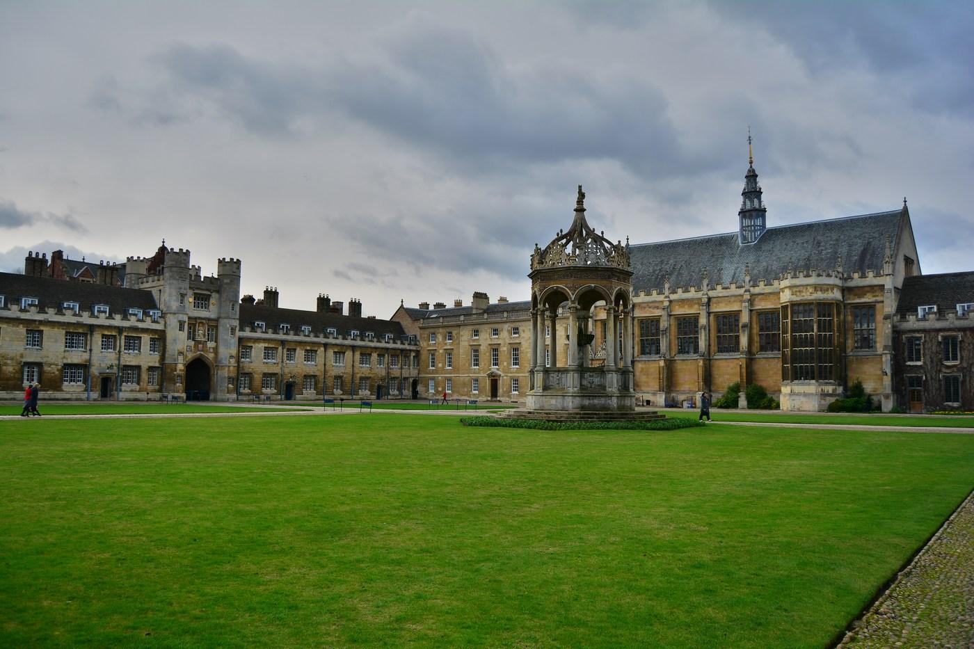La grand cour du Trinity, du tout début XVIIème.