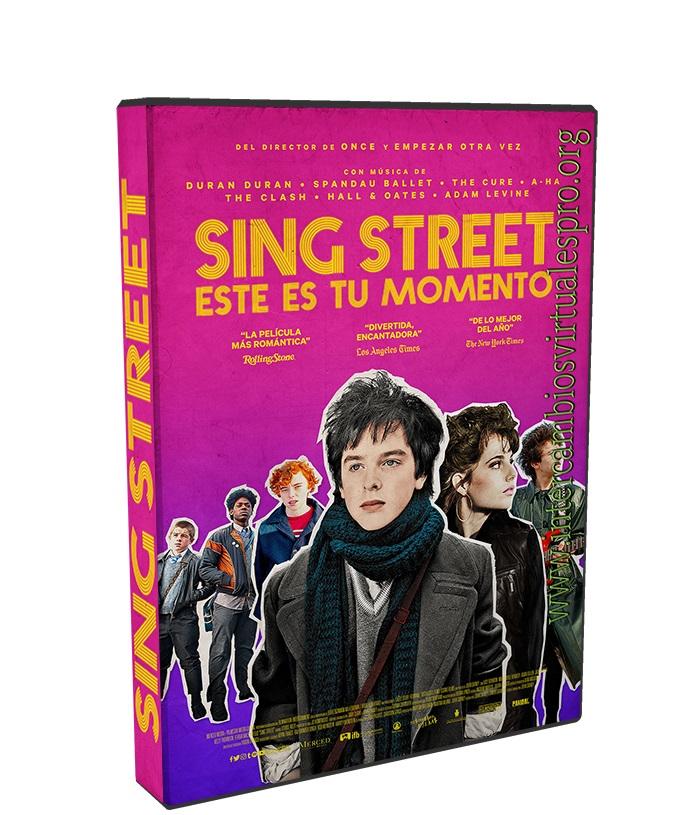 Sing Street Este es tu Momento poster box cover