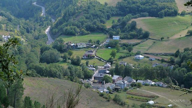 Pueblo de Cecos  - Senda del Oro - Asturias
