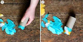 Cara Membuat Kerajinan Tangan Yang Mudah Untuk Anak SD, Ikan Terbang 2