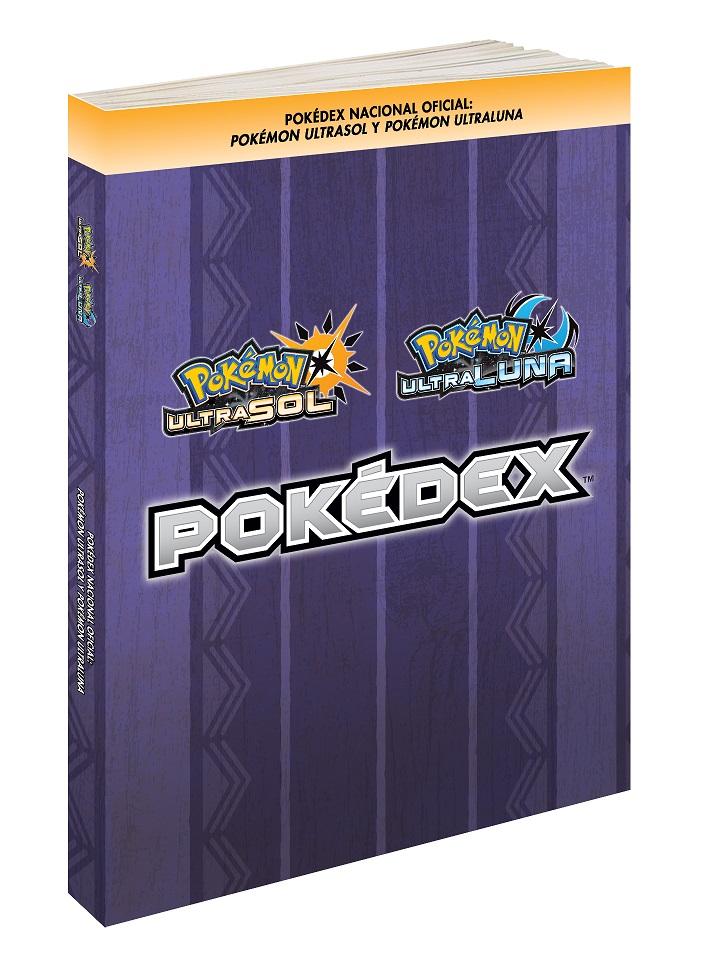Sé el mejor entrenador con Pokédex Nacional Oficial Pokémon Ultrasol y Pokémon Ultraluna