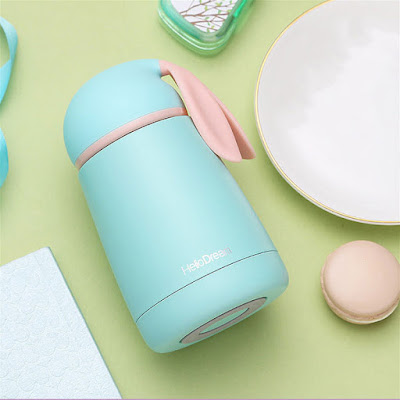 Rabbit Ears Stainless Steel Travel Bottle