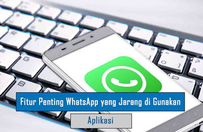 Fitur Penting WhatsApp yang Jarang di Gunakan
