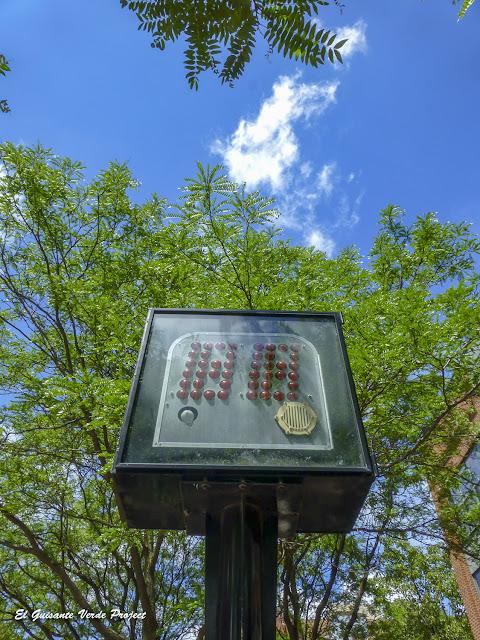 24 seconds Shot Clock Monument - Syracuse, NY por El Guisante Verde Project