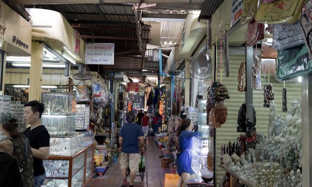 Russian Market Phnom Penh Shopping Cambodia