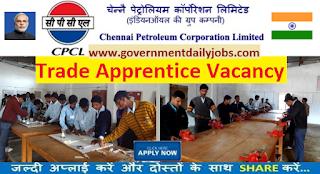 CPCL Recruitment 2017 Trade Apprentices Jobs 48 Posts