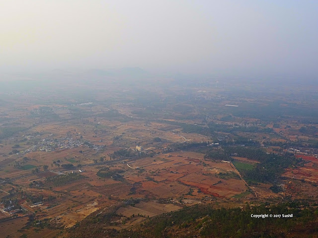 View from Nandi Hills, Bangalore
