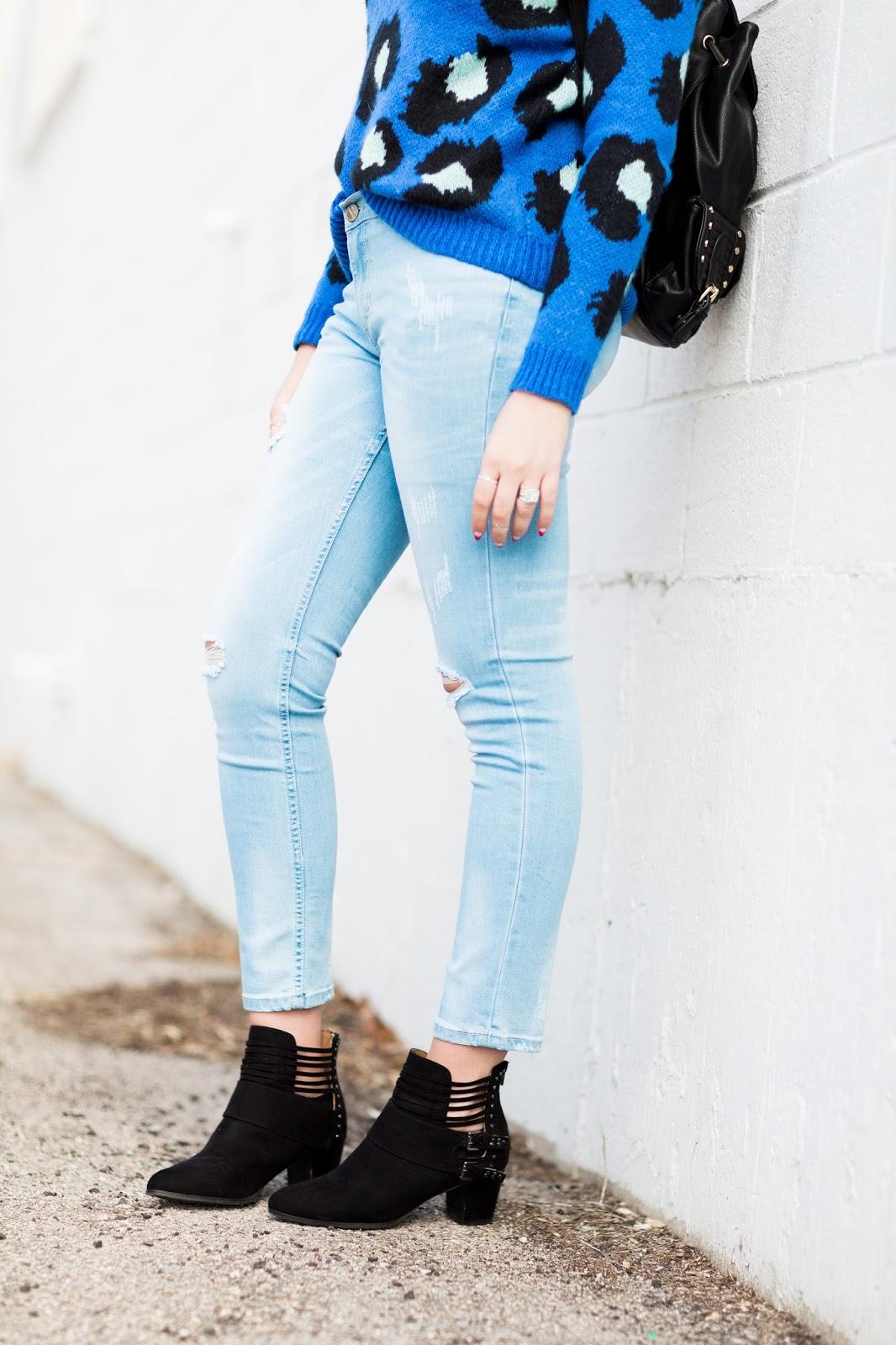 ASOS Jeans, Black Booties