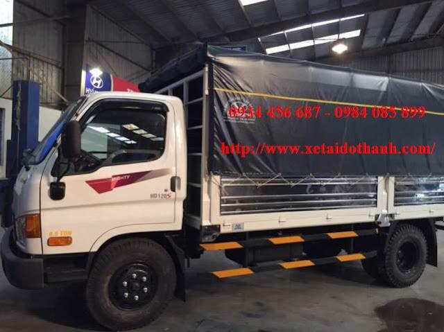 Hyundai HD120s thùng mui bạt