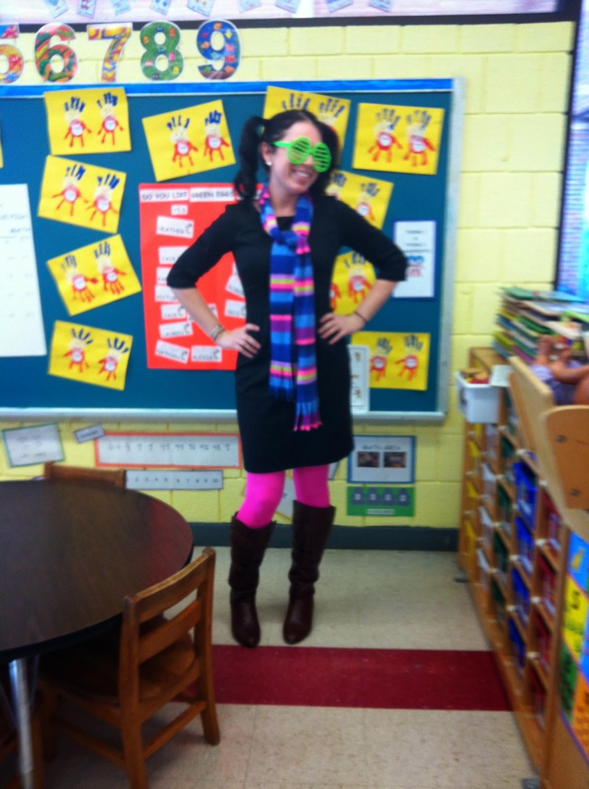 Little Mrs Preschool Dr Seuss S Wacky Wednesday