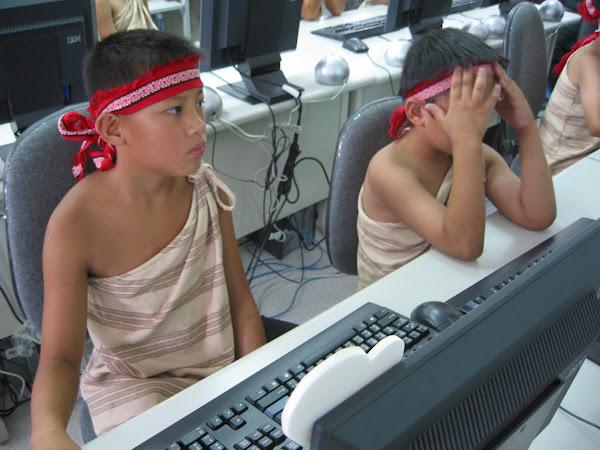 多年前為了彌補數位落差,政府特地補助的原住民電腦教室