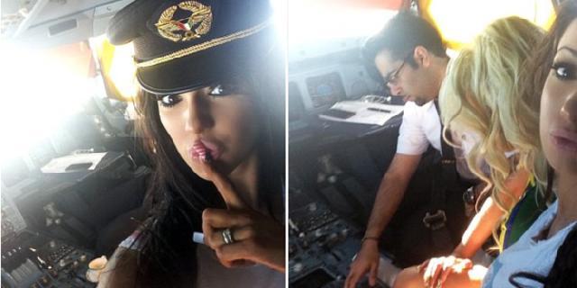 Empat Pilot Nakal Yang Ajak Wanita Cantik Masuk Kokpit