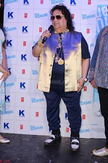 Gracy Singh and Bappi Lahiri   Blue Mountain Music Launch IMG 0678.JPG