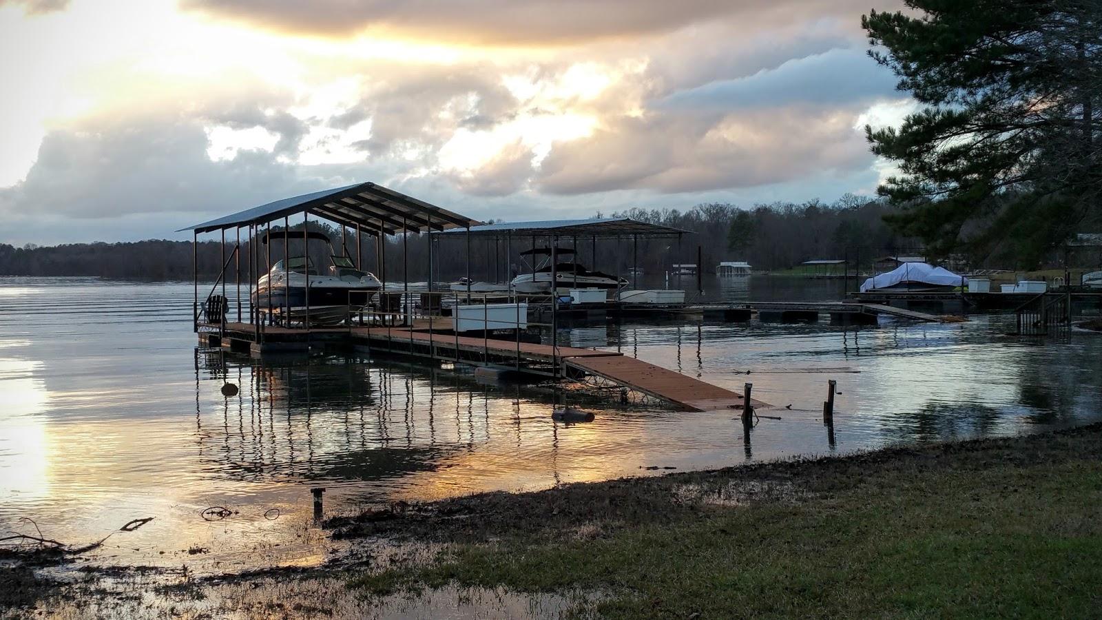 The water supply lake lanier