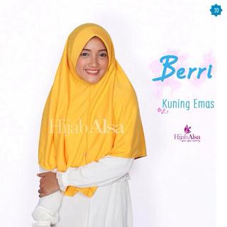 Hijab Alsa Berri Kuning Emas
