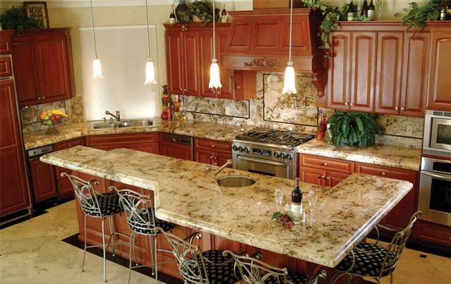 Tanami Granite Kitchen Countertop Ideas