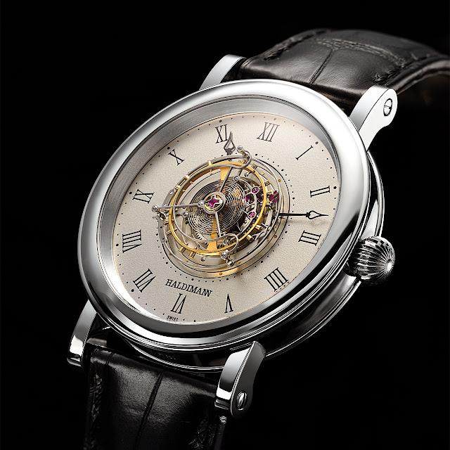 Haldimann H1 Flying Central Tourbillon Mechanical Hand-wound Watch