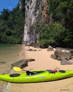 Phang Nga Bay secluded beach