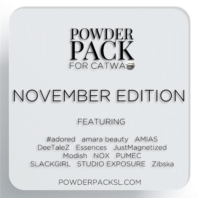 Powder Pack Catwa Nov・・・