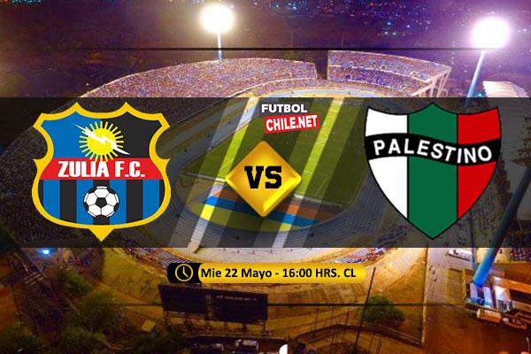 Mira Zulia vs Palestino en vivo y online por la Segunda Fase Ida de la Copa Sudamericana