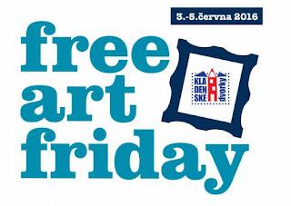 Umělci, blíží se další Free Art Friday / Weekend