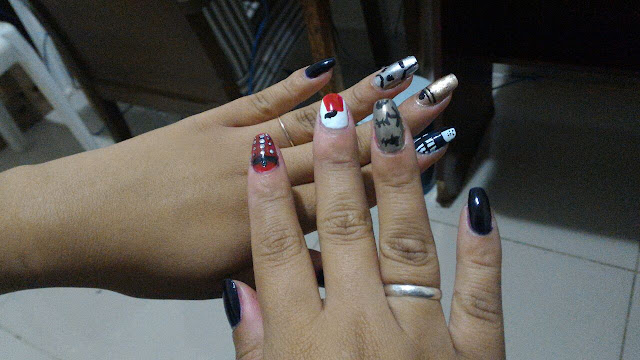 geek nails, geek nailart, doctor who nailart,