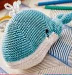 Ballena, Whale, Amigurumi