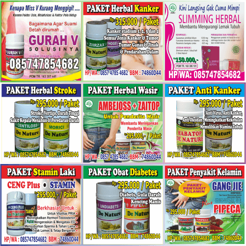 jual herbal kanker, jual herbal wasir, jual herbal sipilis, jual herbal diabet, jual herbal stroke, jual herbal kewanitaan, jual herbal gatal
