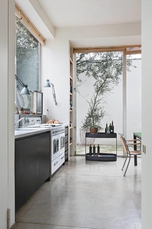 estilo industrial minimalista para un loft milanes chicanddeco