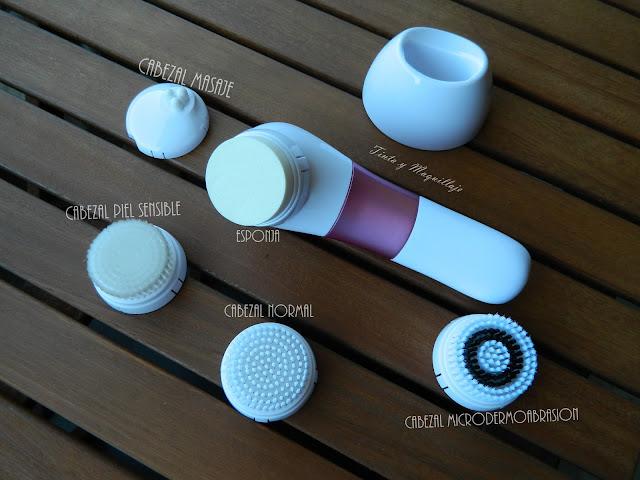 cepillo limpieza facial Nexa Lite