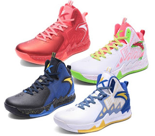 Klay Thompson Shoes types and colors