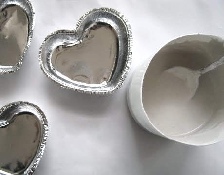 plaster heart molds
