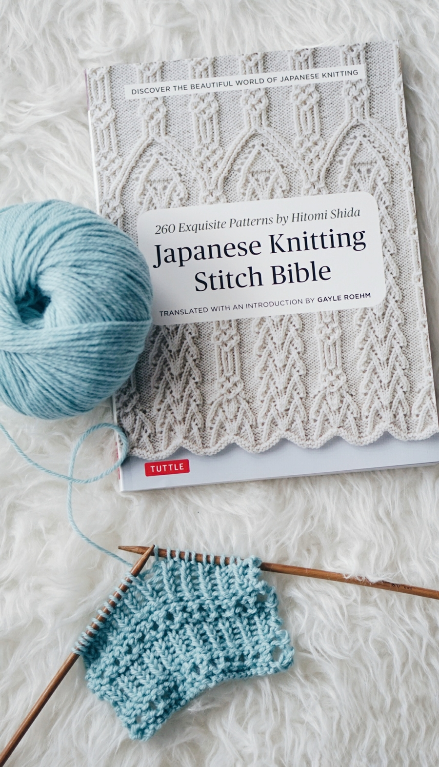 JAPANESE KNITTING STITCH BIBLE REVIEW