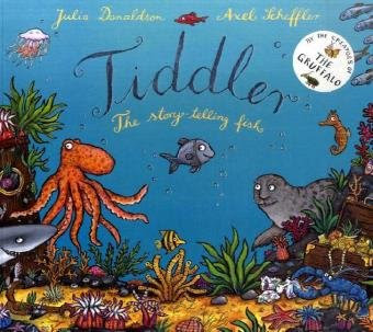 Tiddler, part of Julia Donaldon book review list with crafts, activities and other resources