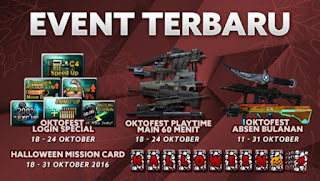 Event PB Garena Terbaru 18 Oktober 2016 - Oktofest Berlanjut