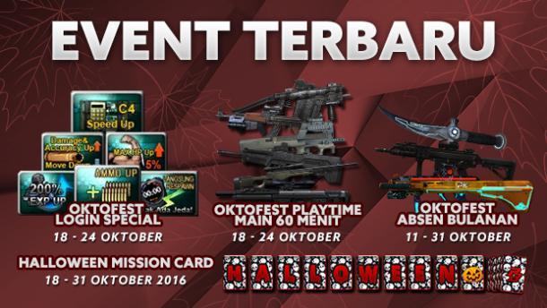 Event PB Garena 18 Oktober 2016 Oktofest Berlanjut