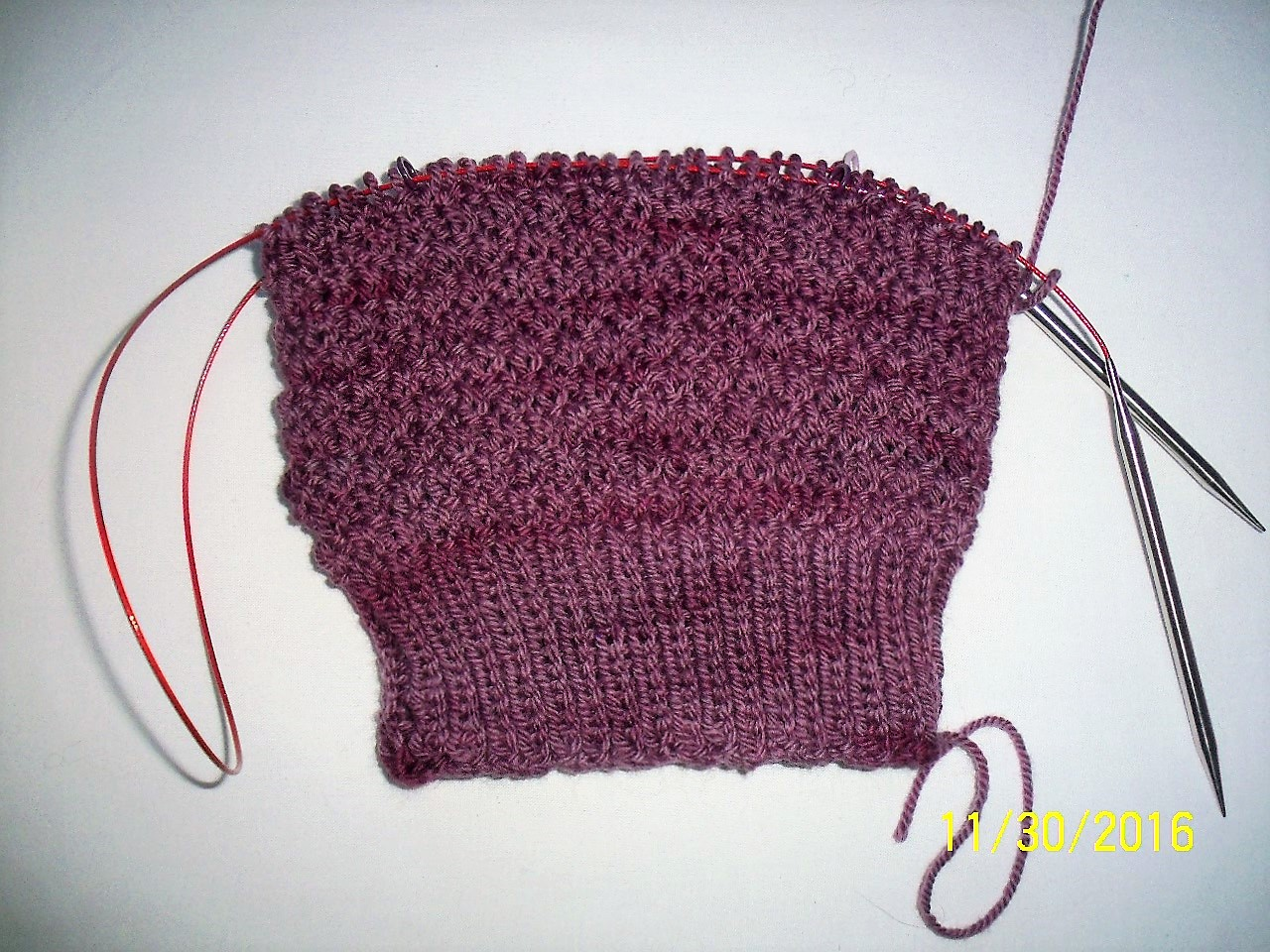 Lilies Knitting Blog: Sample Knit Beloved Hat - DONE!