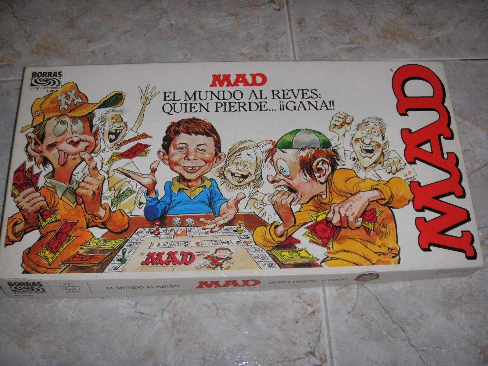 La Buhardilla De Pol Mad Juego De Mesa Borras Ano 1982